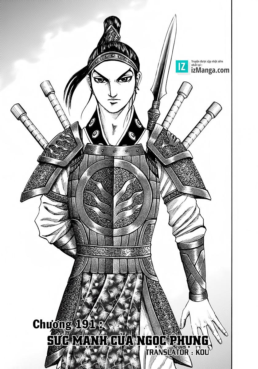 Kingdom - Vương Giả Thiên Hạ Chapter 191 page 3 - IZTruyenTranh.com