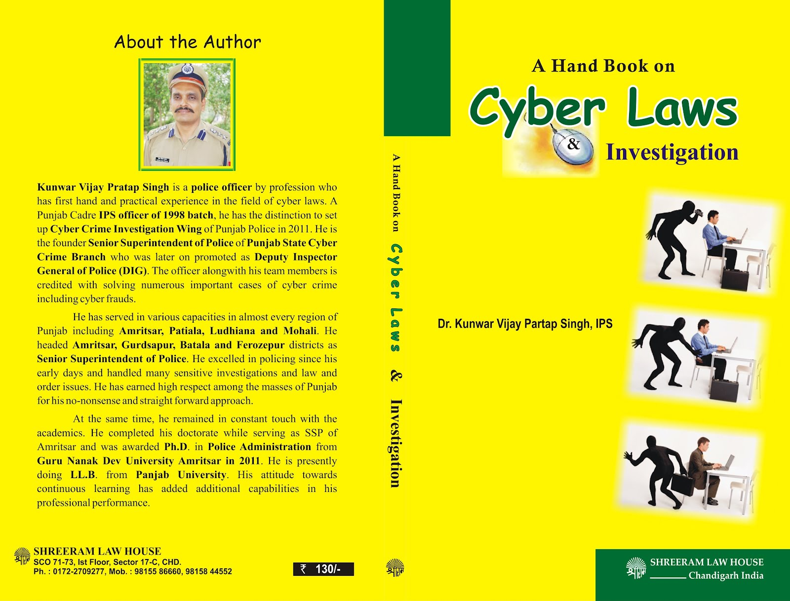 police help kunwar writes a book on cyber laws kunwar writes a book on cyber laws