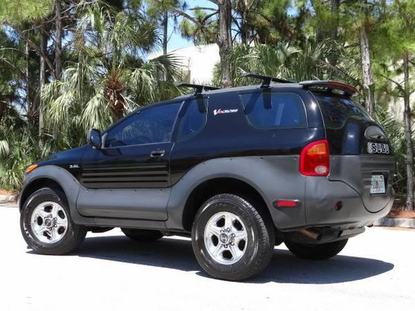 Rare 4wd Isuzu Vehicross Suv Auto Restorationice