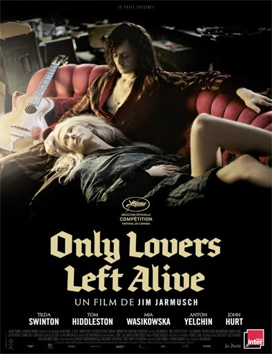 Ver Solo los amantes sobreviven (Only Lovers Left Alive) (2013) Online