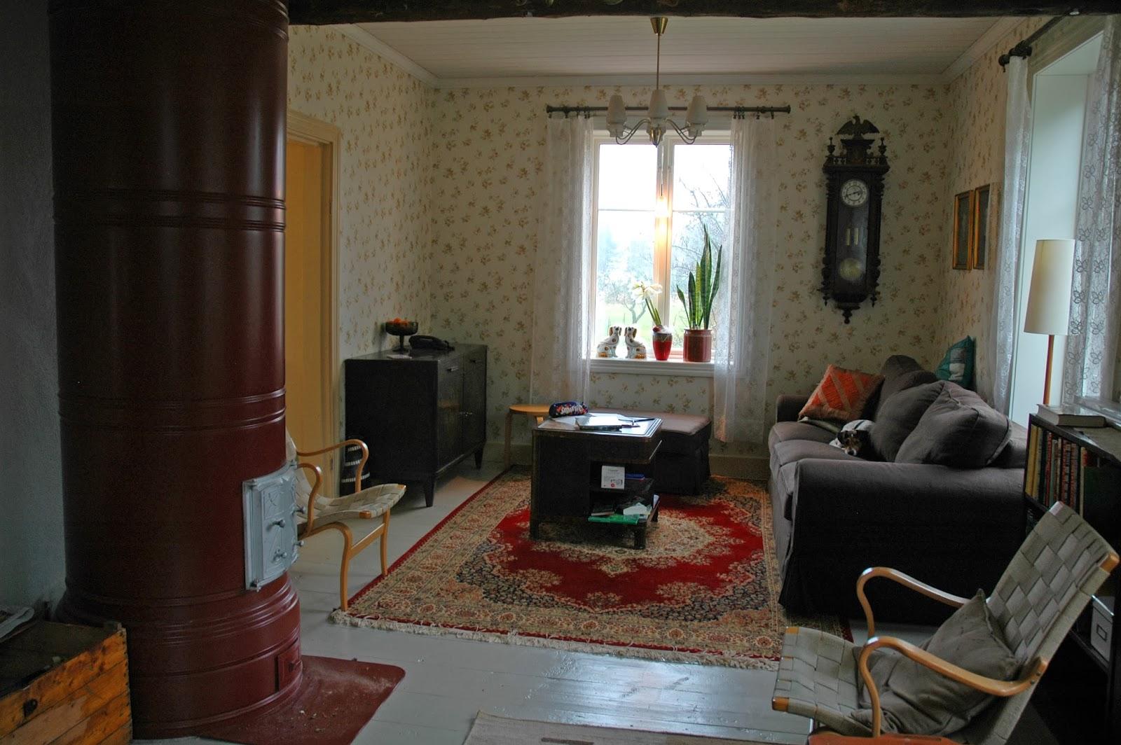 Livet på Fridhem: 4. Kolla! Här är en bild från mitt vardagsrum.