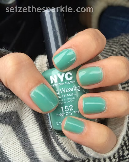 NYC Tudor City Teal