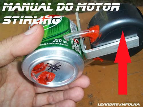 Manual do motor Stirling, tampas para cilindro do pistão de trabalho