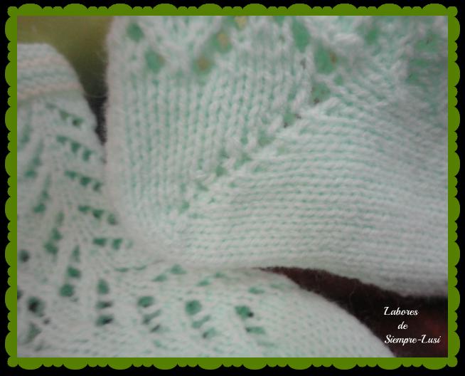 Labores de siempre calcetines beb talla 8 12 meses - Puntos para calcetar ...