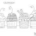 Coloriage Pour Adultes Cupcake