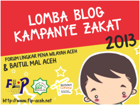 Lomba Blog Kampanye Zakat