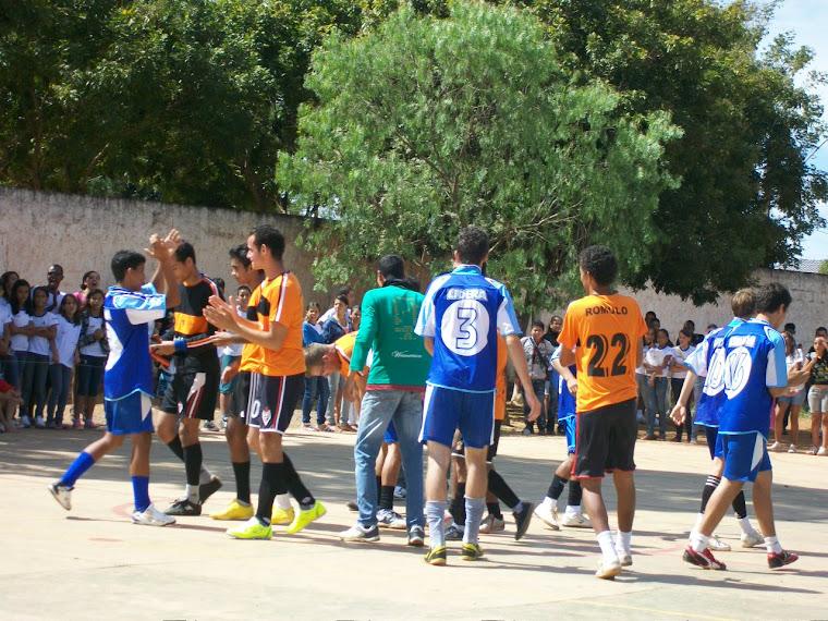 Futebol de Salão dos alunos