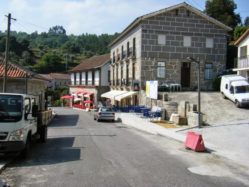 Rua Central em Alcafache