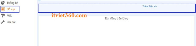 Them tien ich add a widget blogspot