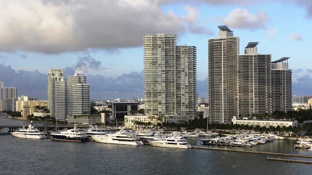 Skyscrapers Miami Beach