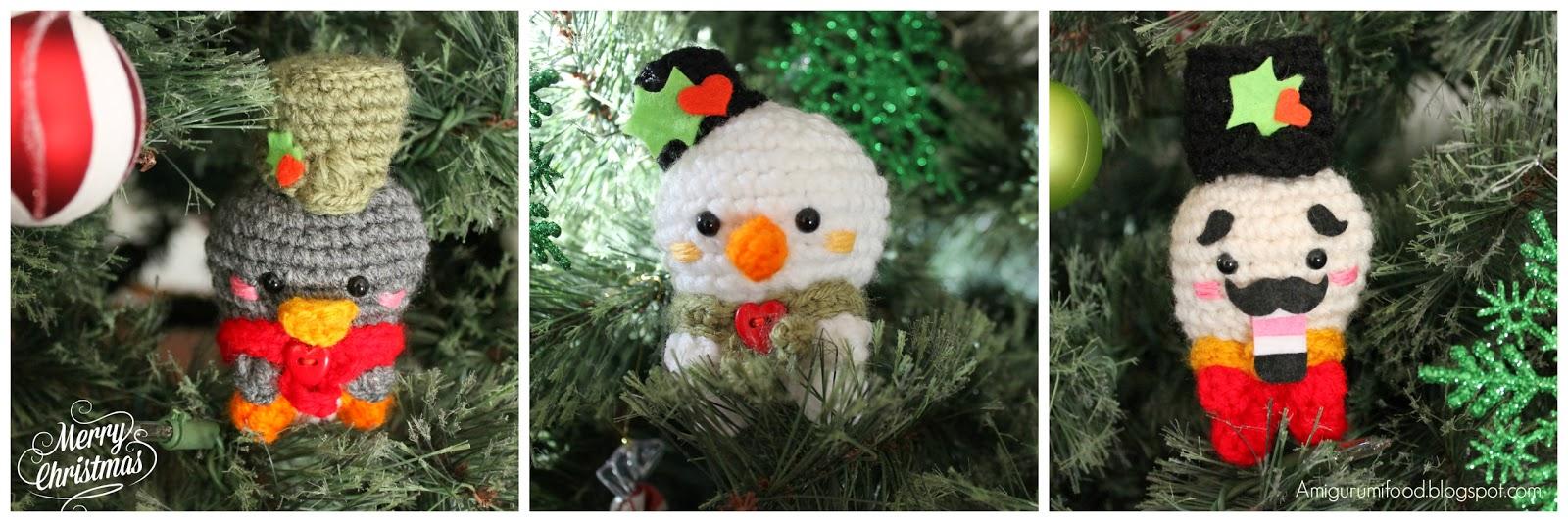 Amigurumi Food: Christmas Cheer Amigurumi Food Free Pattern!