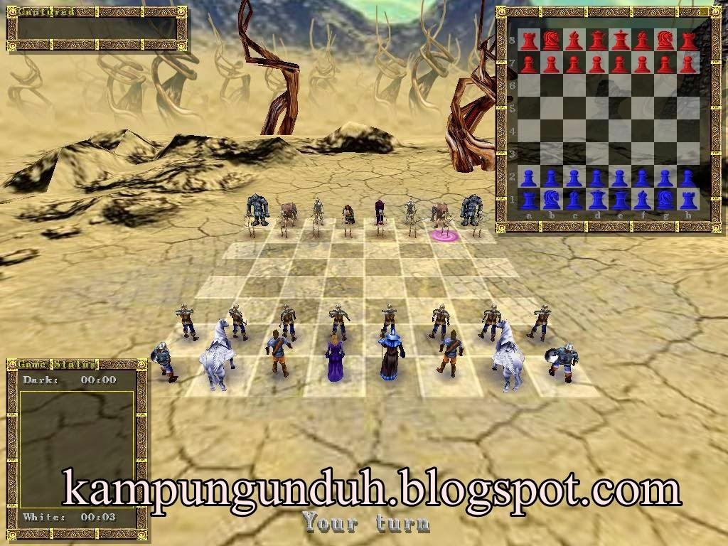 Download Game Catur 3D PC Full Version