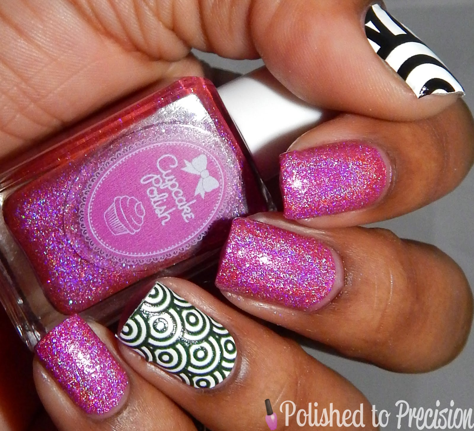 Cupcake Polish Fight Like a Girl