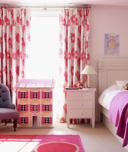 Light Pink Bedrooms For Girls