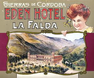 Los albores del turismo en la villa serrana, que mñás tarde se llamará LA FALDA