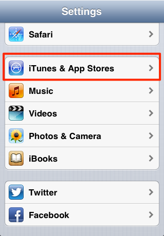 how to change the itunes store location