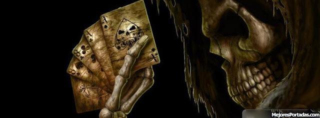 Muerte con cartas - Portada Facebook