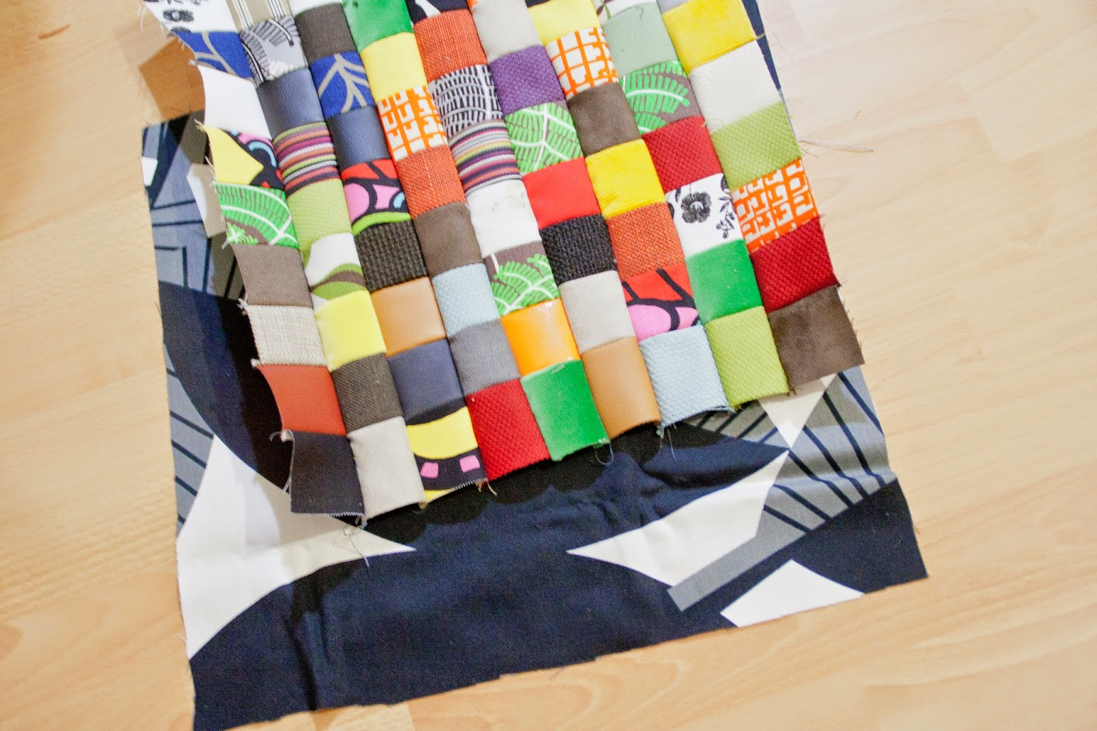 curious and catcat diy patchwork pillow case made from free ikea
