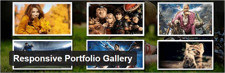 Responsive Portfolio Gallery plugin