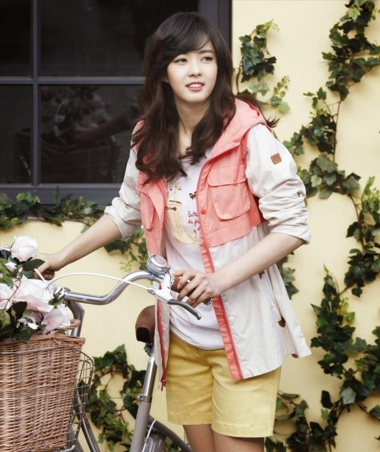 Go Ara Lee Dong Wook - Aigle Spring Summer 2014
