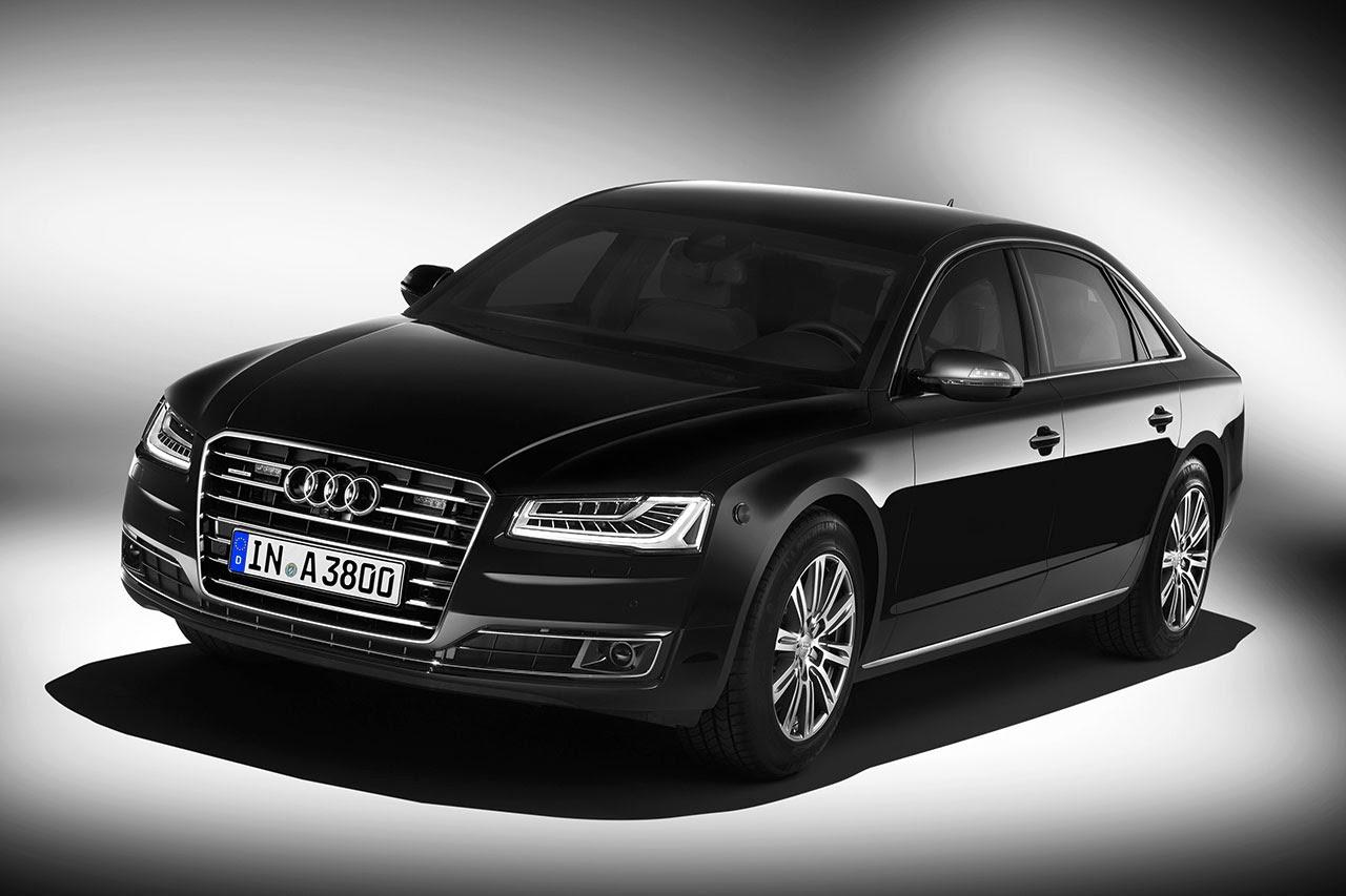 Audi A8 L Security front
