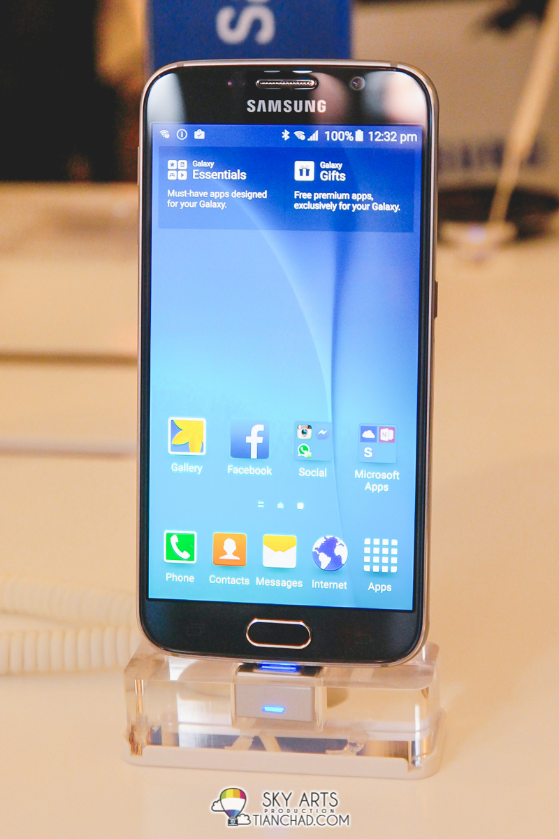 Samsung Galaxy S6 with better performance inside out