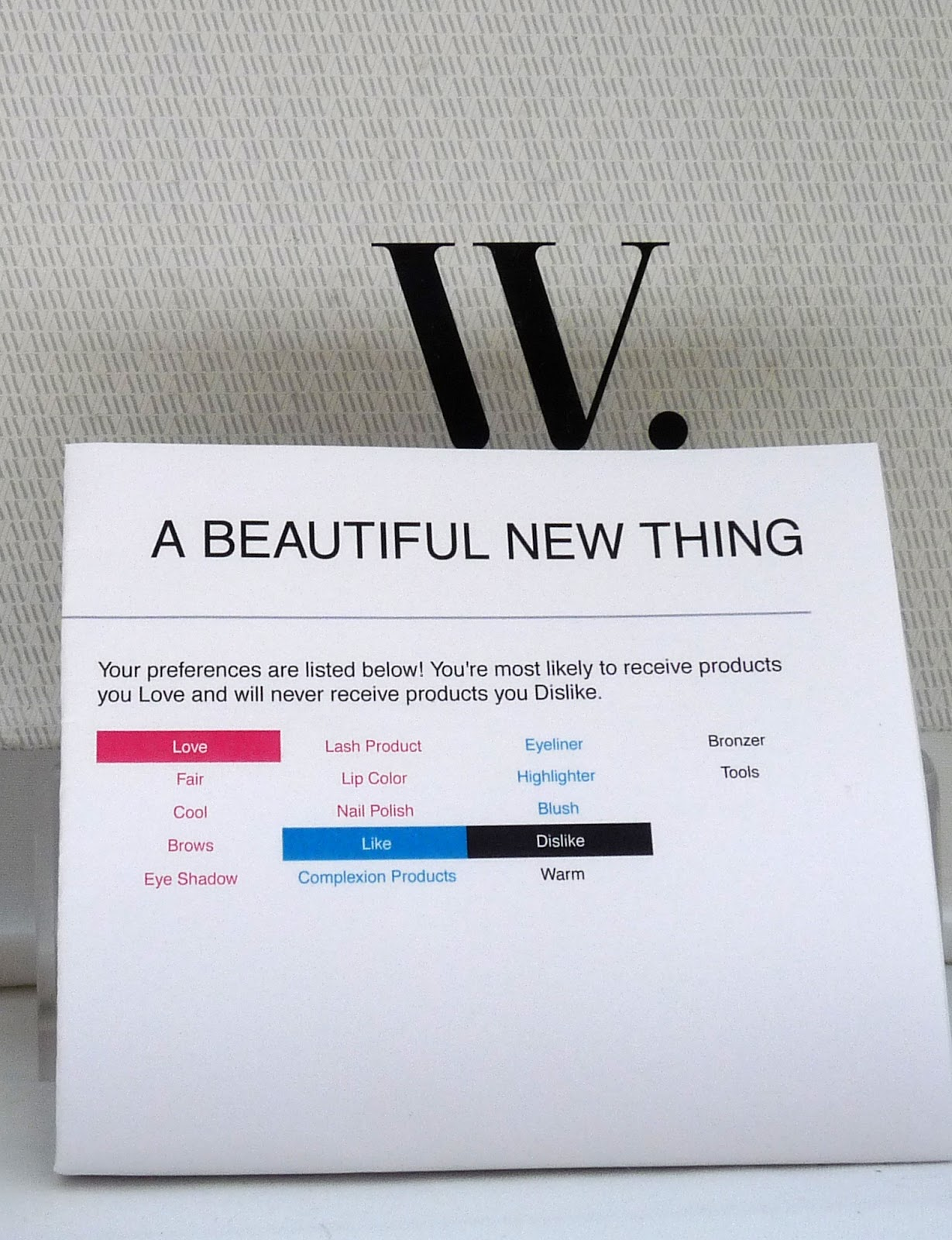 dips delectus wantable personalised beauty box subscription review