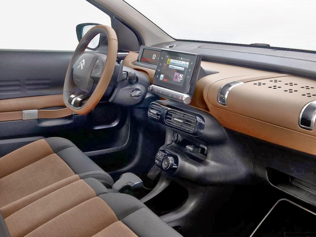 Cockpit autom vel conte dos auto apresenta o citro n - Cactus de interior ...