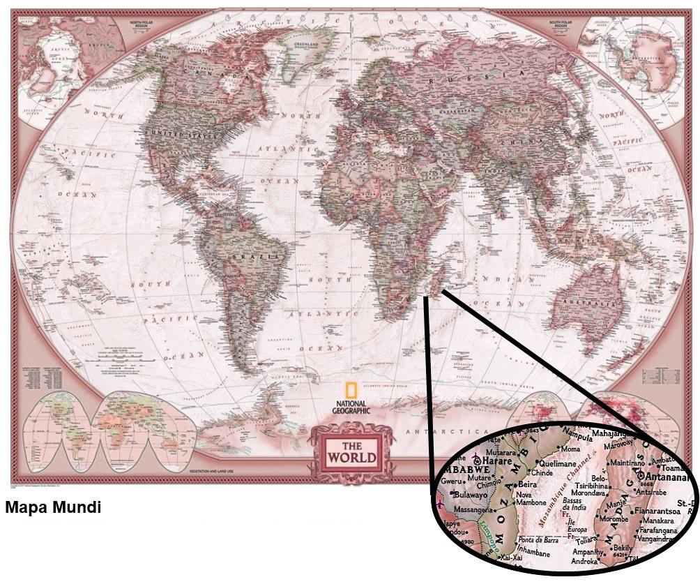 mundo mapa vermelho terra