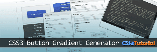 CSS3 Gradient Button Generator