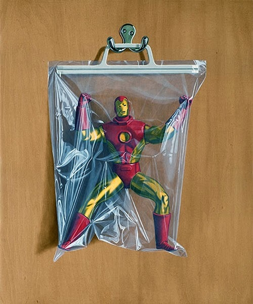 13-Tony-Stark-Iron-Man-Simon-Monk-Bagged-Superheroes-in-Painting-www-designstack-co