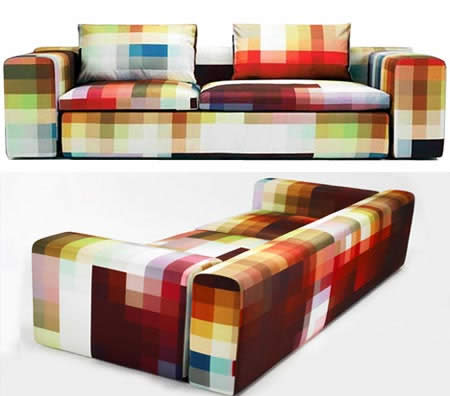 Arq taller 3 sofas raros raros