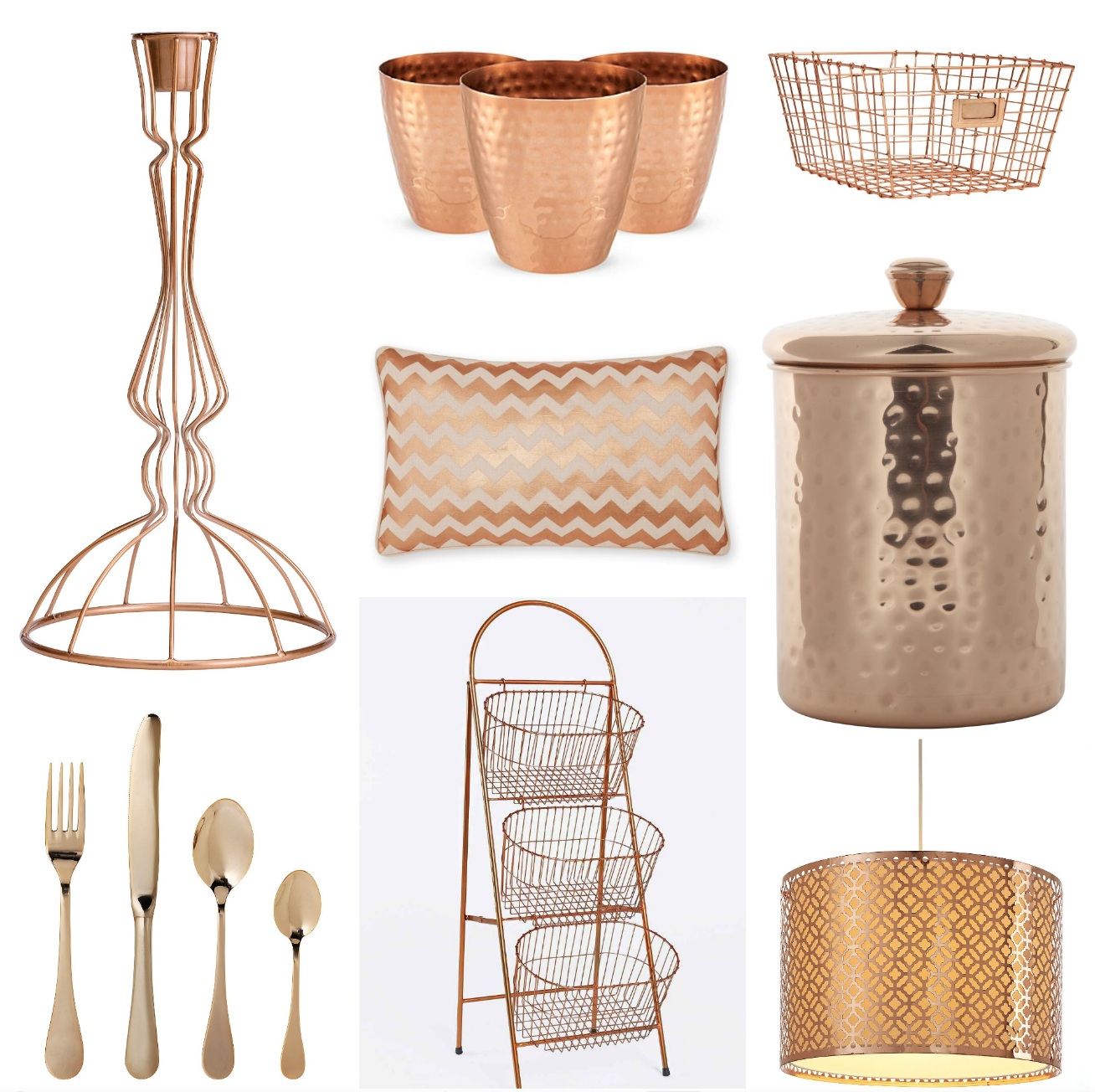 V i buys copper crush 12 great ways to instantly update your home mamas v i b - Rosegold dekoration ...