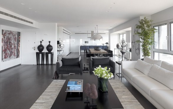 Apartamento de lujo contempor neo ideas para decorar for Departamentos pequenos lujosos