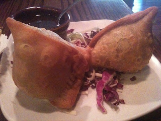 Saffron Indian Bistro dish: Meat Samosa