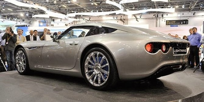 The Lightning GT Supercar