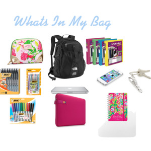 Dixology:: What's In My Bag: College Edition