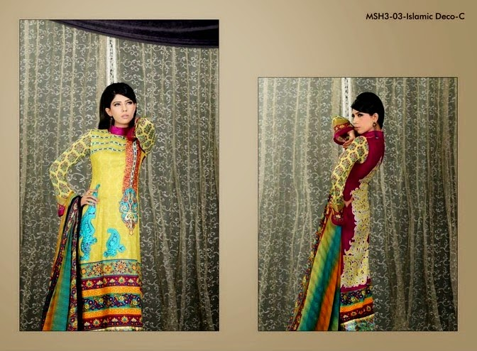 Islamic Deco Embroidered Dresses