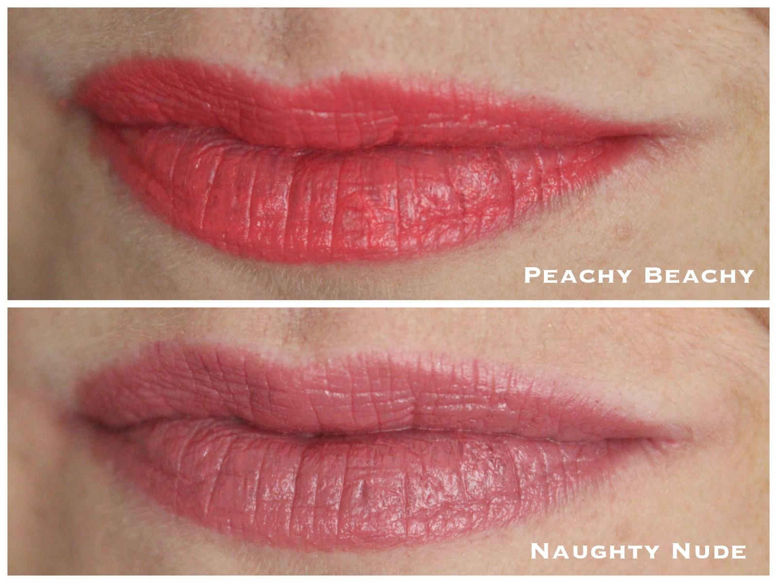 Rimmel The Only 1 Lipsticks - Peachy Beachy, Naughty Nude, Under My Spell, One of a Kind swatches, photos