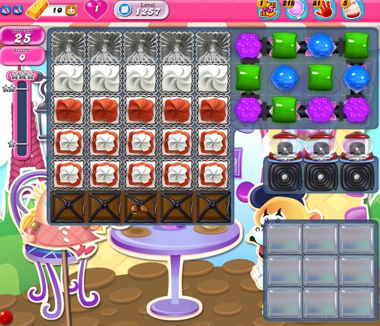 Candy Crush Saga 1257