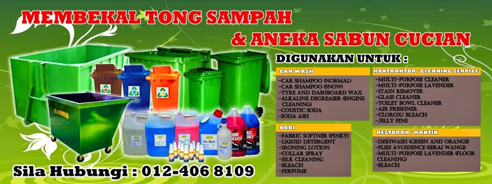 TONG SAMPAH HD-PE 'MOBILE GARBAGE BIN'