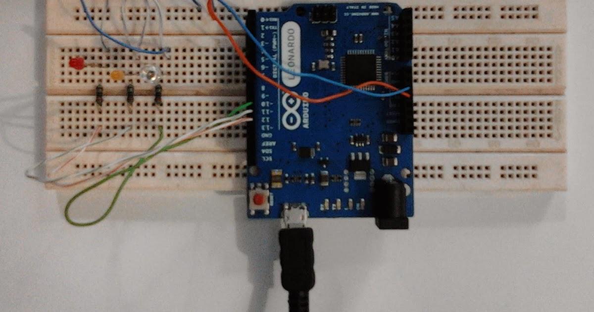 Proyek membuat lampu merah traffic light arduino