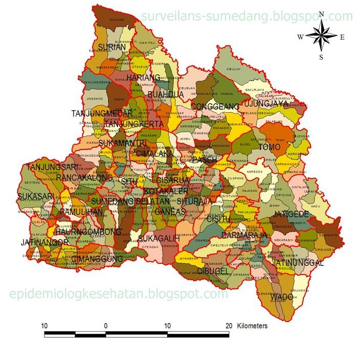 Instrumen Akreditasi Puskesmas 2015 Surveilans Kesehatan Sumedang Peta Desa Di Puskesmas