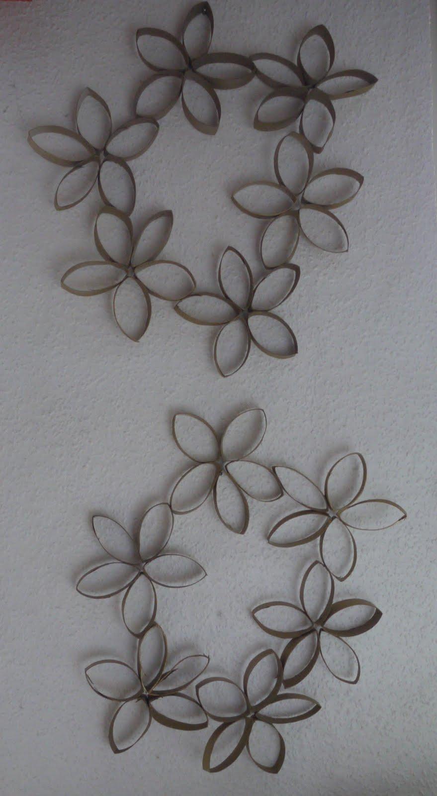lena: tannenbäume basteln