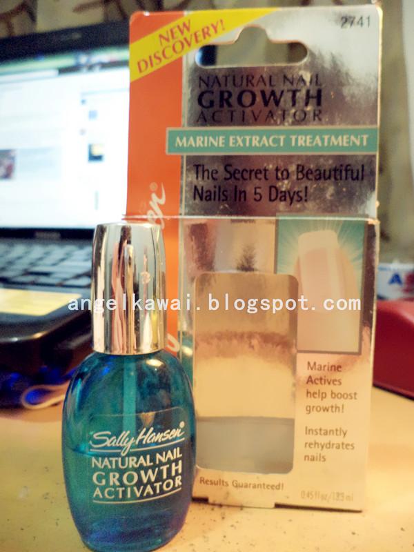Angelkawai\'s Diary: Review Natural Nail Growth Activator Sally Hansen
