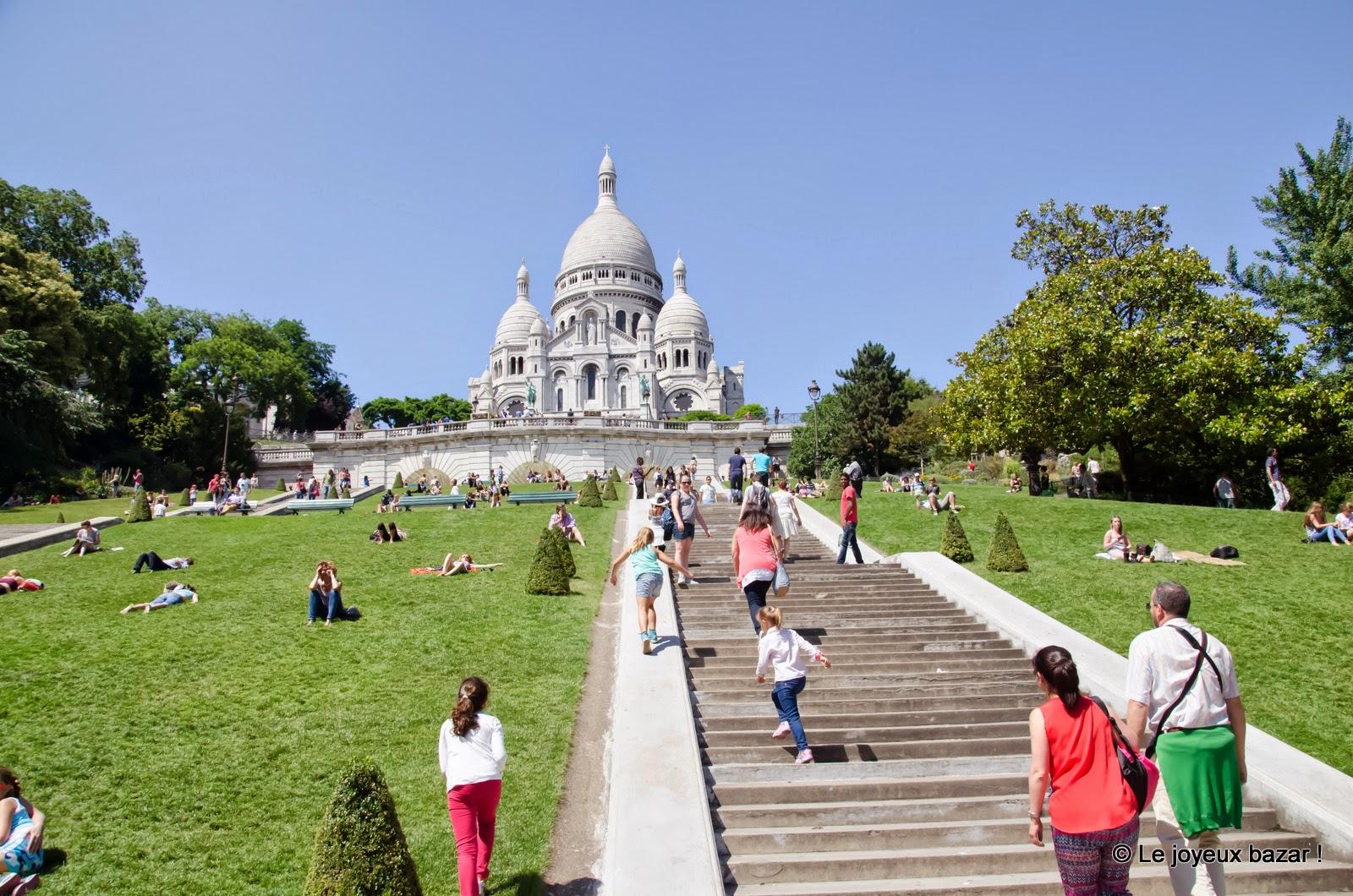 Paris - Montmartre - Sacré-Coeur