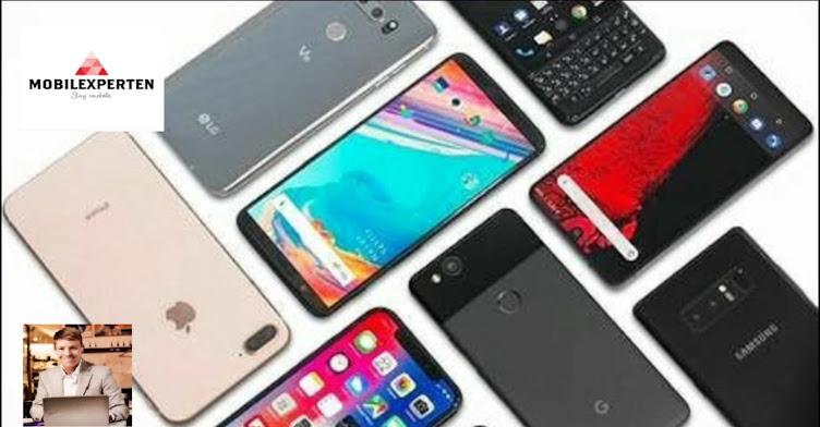 Smartphones, mobiltelefoner, mobiler, phablets