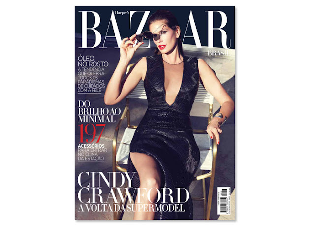 Cindy Crawford Harper's Bazaar
