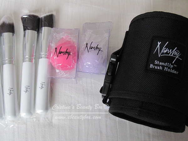 Nanshy Brushes, Make up Blending Sponges and Brush Holders Review