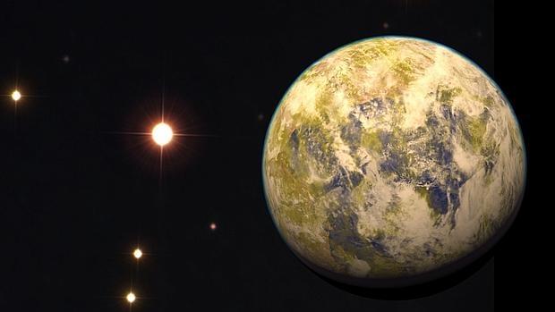 Otra tierra a 16 años luz